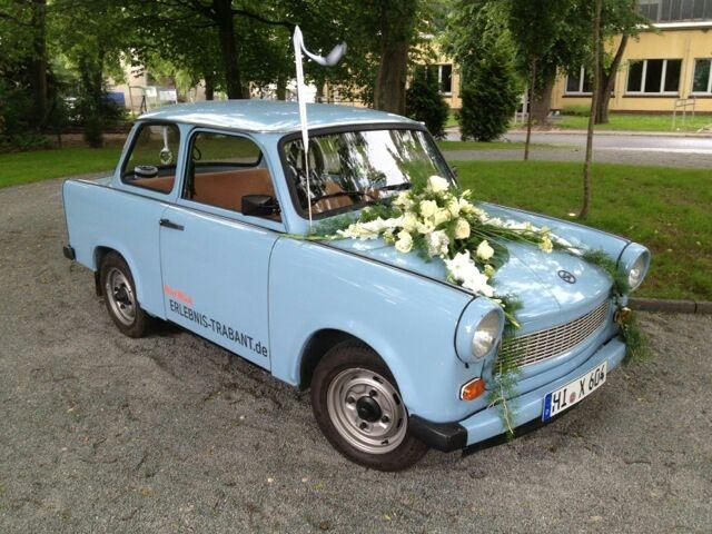 Trabant Hochzeitsauto